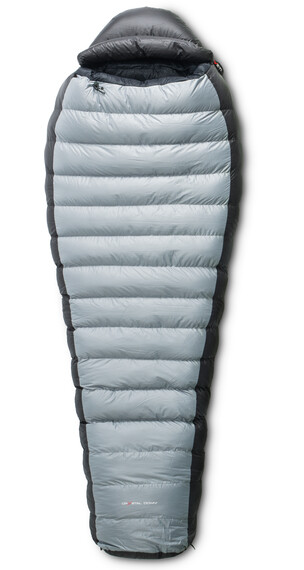 Yeti Fusion 1300+ Śpiwór M, Zip L czarny/srebrny